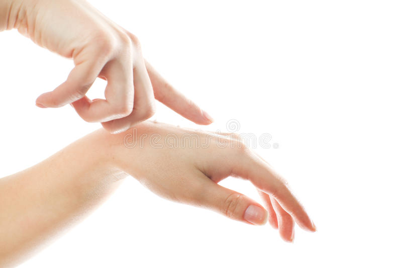Women's hands royalty free stock image