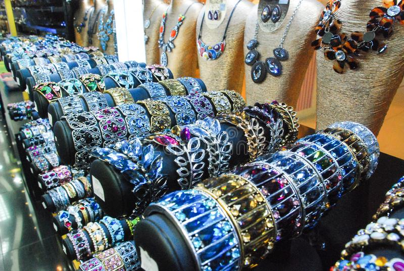 Women`s jewelry and accessories. Jewelry stock photos