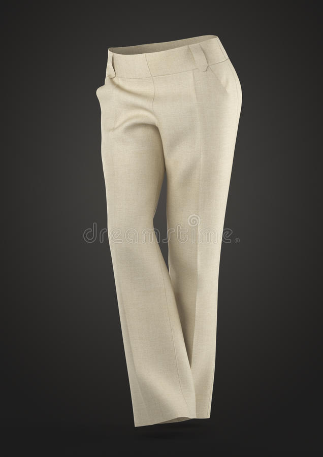 Women's Pants. Autumn-Spring Collection royalty free stock photography