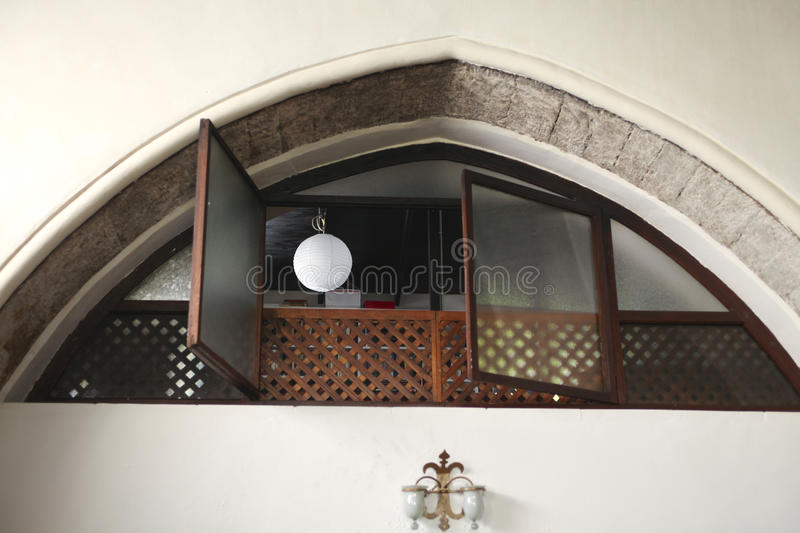 Download Women's Part Of  Old Synagogue Stock Image - Image: 14263429