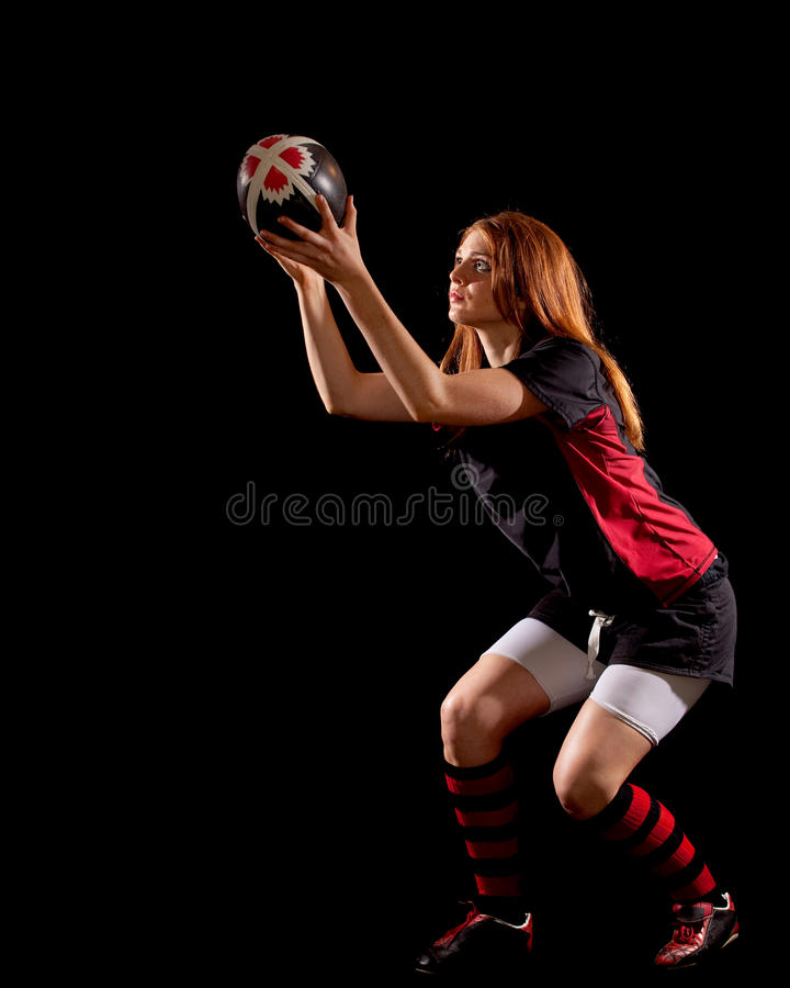 Download Women's Rugby stock image. Image of person, young, black - 14926805