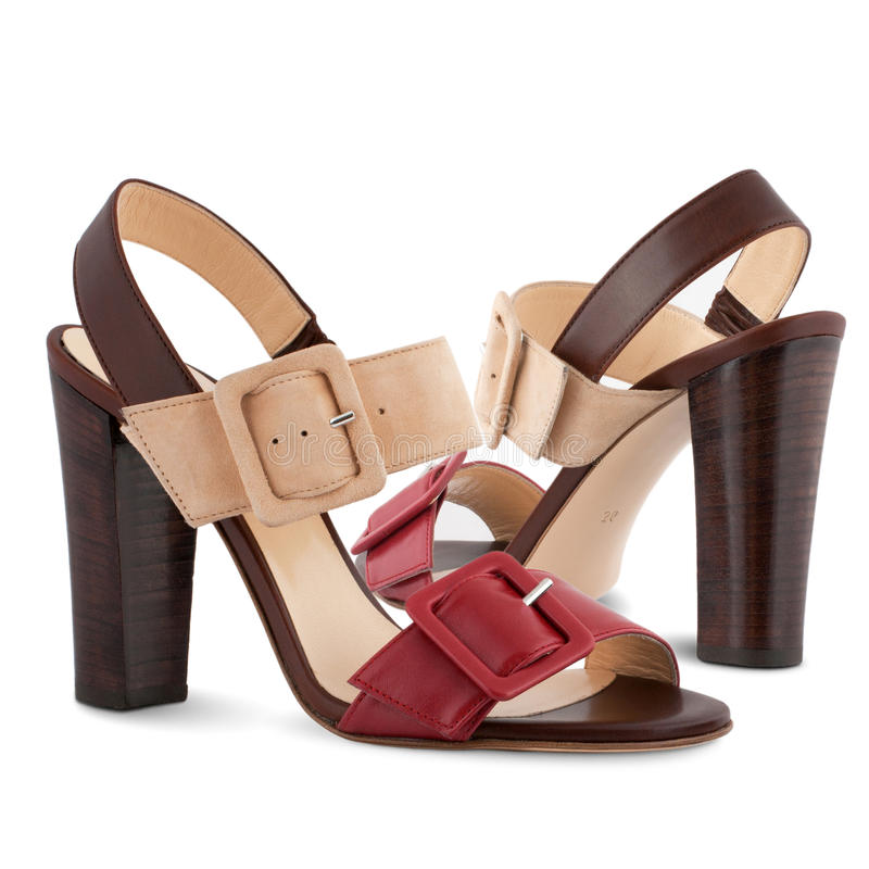 Women's shoes royalty free stock photography