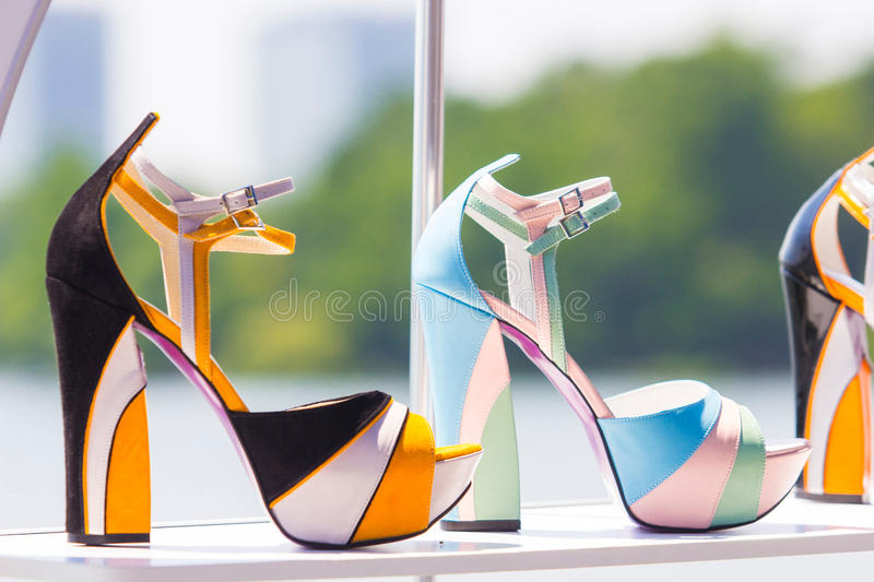 Women S Shoes Royalty Free Stock Photos