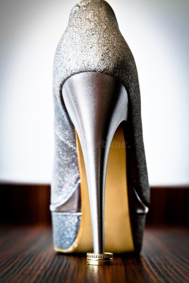 Women's Silver Stiletto Free Public Domain Cc0 Image