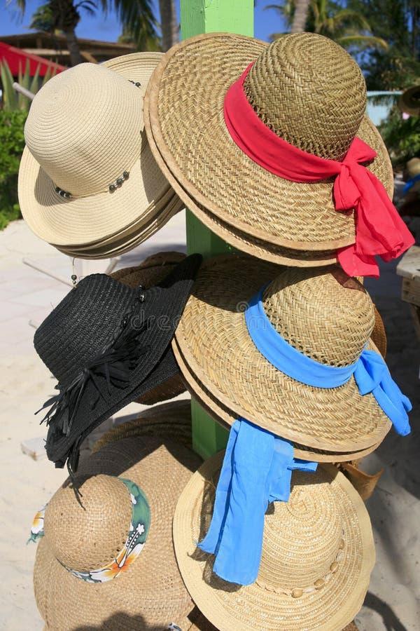 Women's Sun Hats stock photo