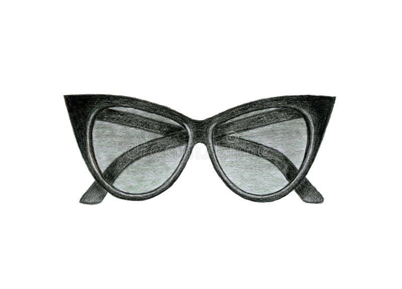 Women's Sunglasses black stock photos
