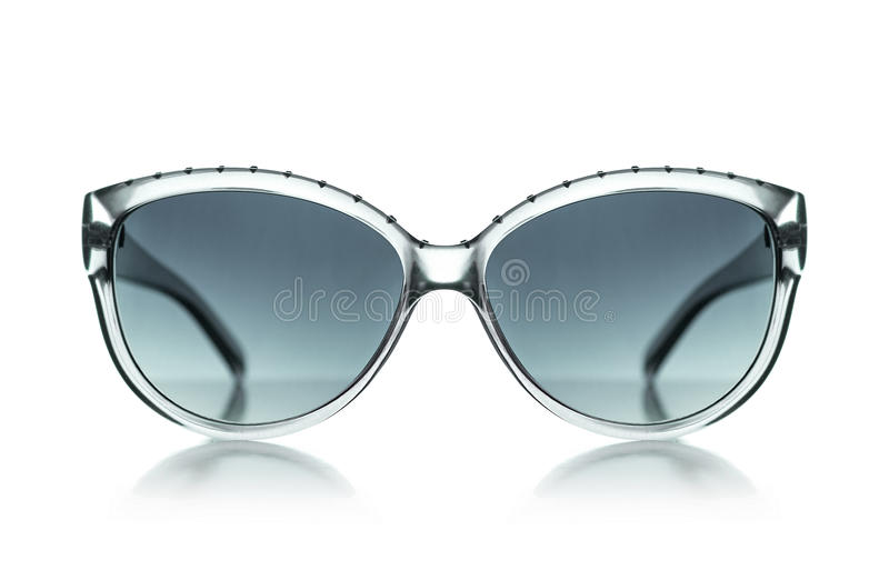 Women's Sunglasses sunglasses isolated. Women's Sunglasses sunglasses isolated on white background. With clipping path royalty free stock photo