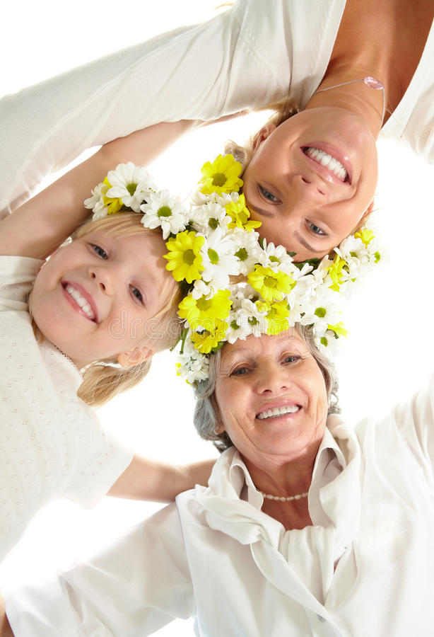 Download Women�s team stock photo. Image of child, grandchild - 16537630
