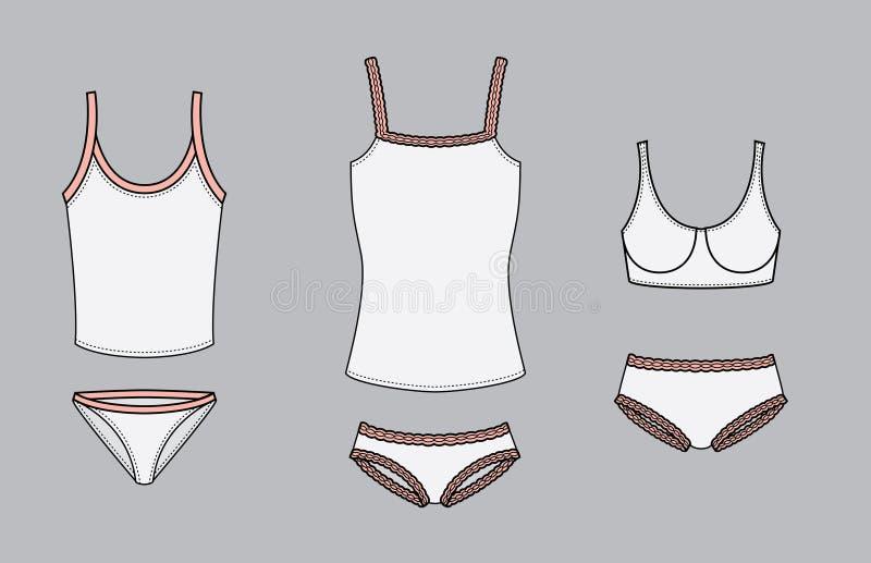 Download Women's Underwear stock vector. Illustration of lingerie - 19712731