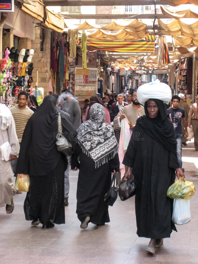 Download Women Shopping At The Souk. Egypt Editorial Image - Image: 26593985