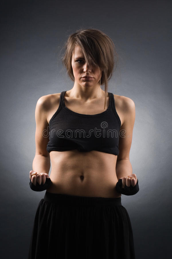 Women In Sports Royalty Free Stock Photos