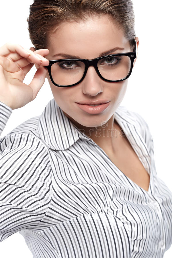 Download Women Or Student On The Business Background Stock Image - Image: 16957371