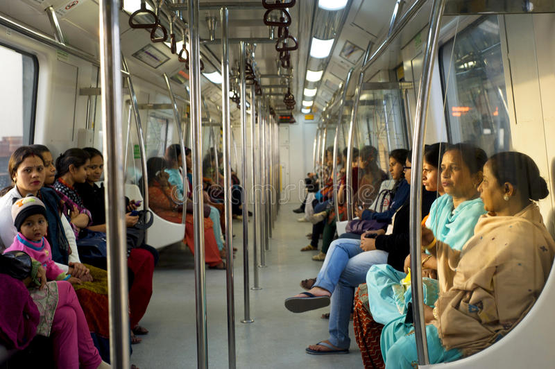 Download Women-Only Subway Cars editorial image. Image of attractive - 23805770