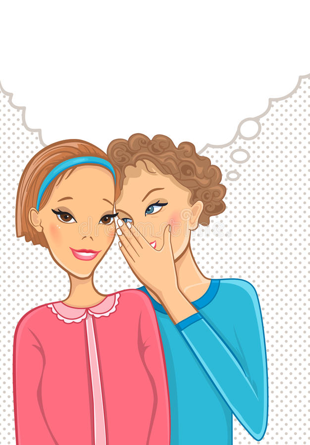 Download Women talk stock vector. Image of talking, gossip, beautiful - 24220613