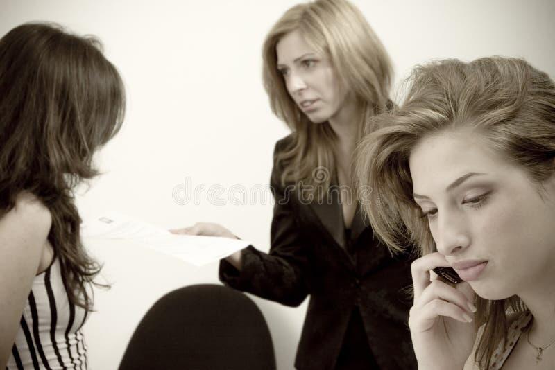 Download Women talking stock image. Image of explain, explaining - 2500333