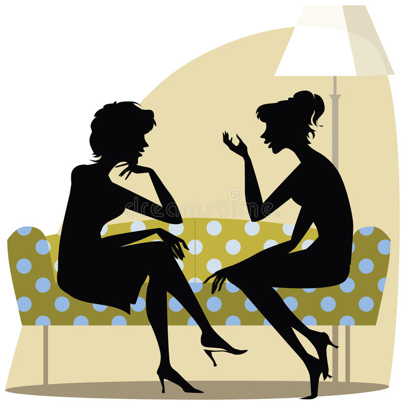 Download Women talking stock image. Image of afternoon, room, conversation - 32835173