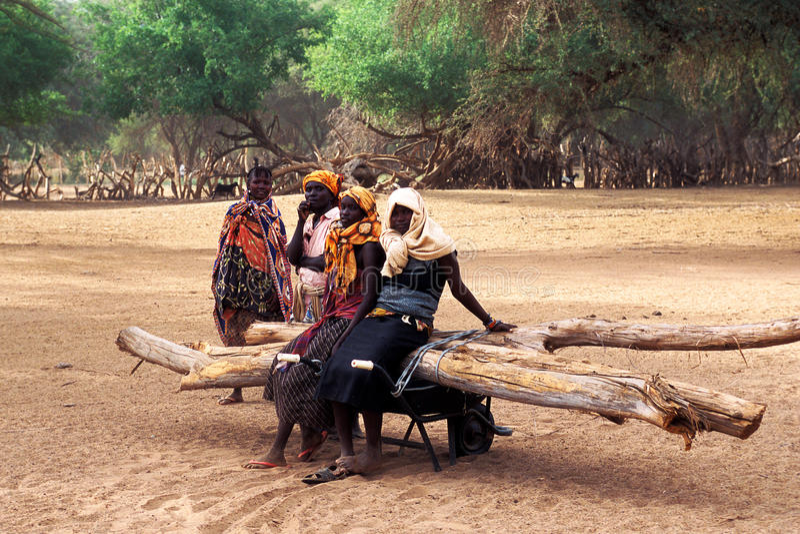 Women Turkana (Kanya) royalty free stock images