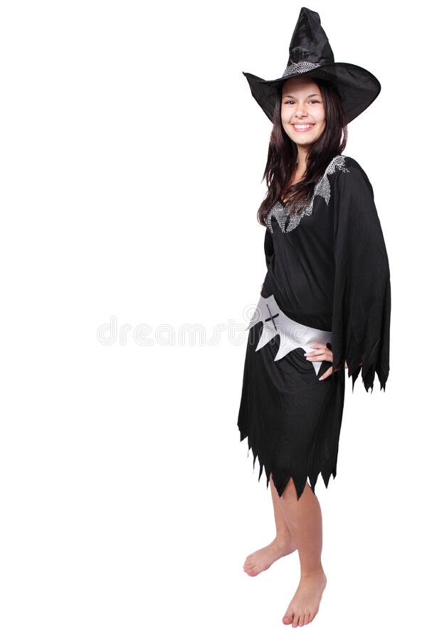 Women In Witch Costume Free Public Domain Cc0 Image