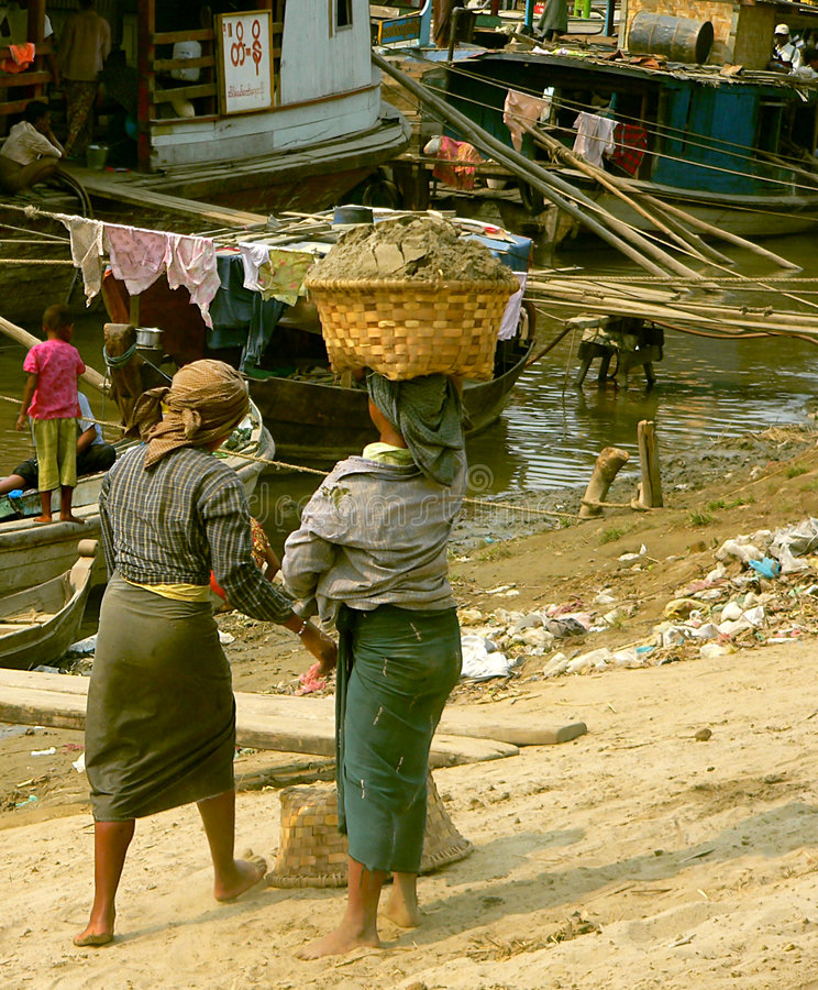 Download Women Working stock photo. Image of female, irrawaddy, hold - 301314