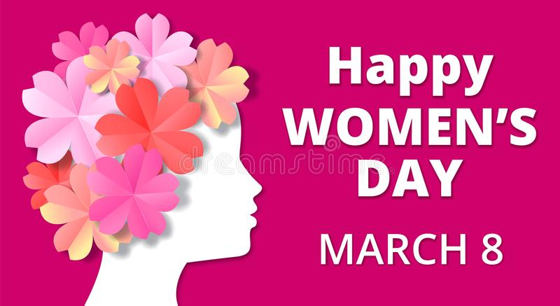 Womens day stock illustration