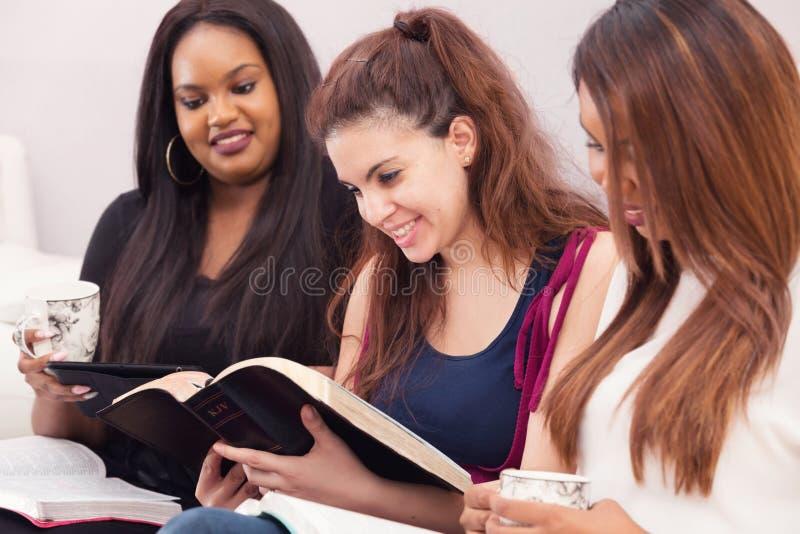 Womens Devotional Bible Study stock photo