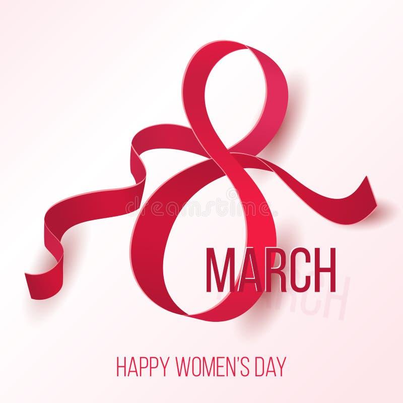 Womens 8 March Day Symbol Beautiful Woman International Celebration