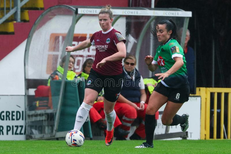 Womens National League game: Galway WFC vs Peamount United stock images