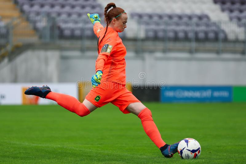 Womens National League game: Galway WFC vs Peamount United royalty free stock photo