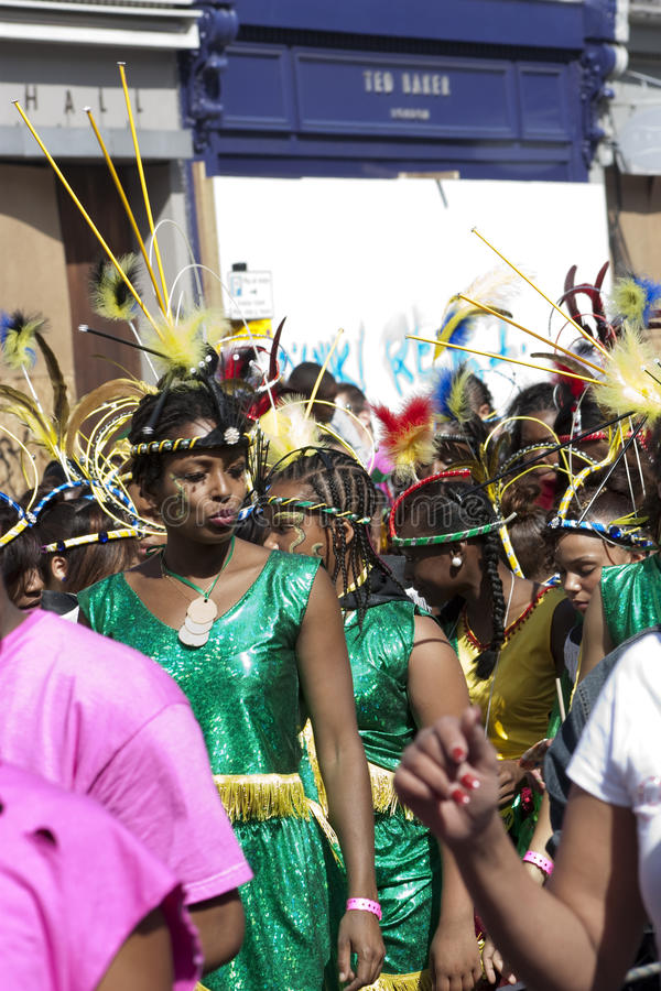 Womens In At Notting Hill Carnival Editorial Stock Image