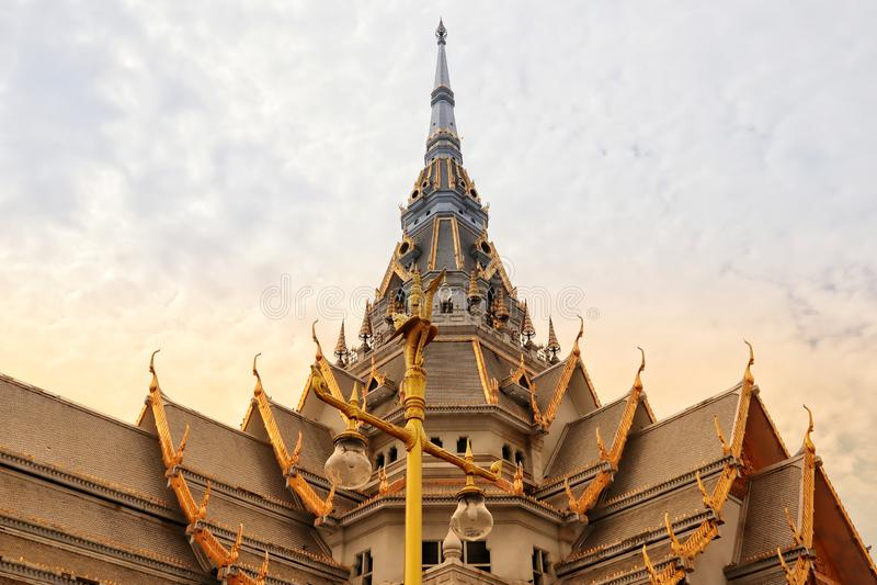 Won Sothon Wararam Worawihan Chachoengsao Tailândia foto de stock