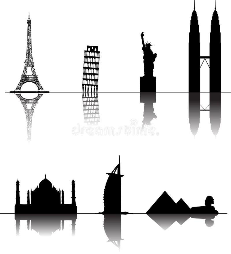 Download Wonder stock vector. Image of dubai, sphinx, klcc, egypt - 10112734