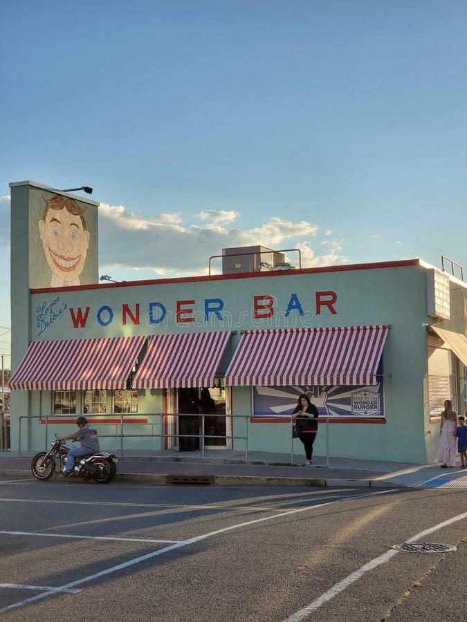 Wonder bar Asbury park royalty free stock photo