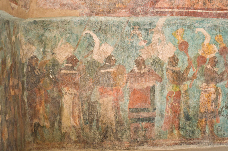 The wonder of bonampak stock photo