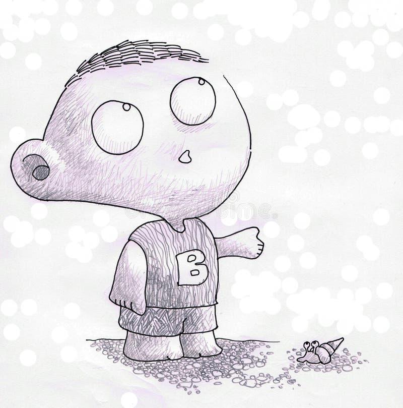 Download Wonder boy stock illustration. Image of animal, pure - 14182527