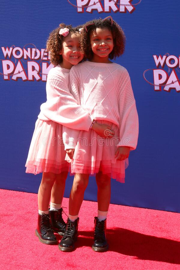 Wonder Park Premiere. LOS ANGELES - MAR 10:  Dani Lane, Dannah Lane at the Wonder Park Premiere at the Village Theater on March 10, 2019 in Westwood, CA stock photos