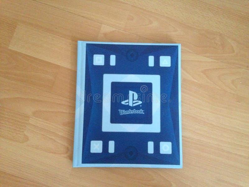 Wonderbook di Playstation 3 fotografia stock libera da diritti