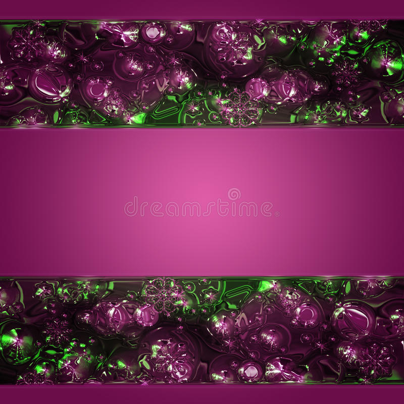 Wonderful abstract illustrated glass design. Wonderful abstract illustrated glass background design vector illustration