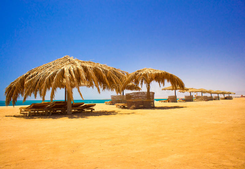 Download Wonderful  Beach In The Egypt. Stock Image - Image: 25488599