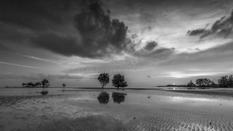 BlackWhite Photos at Batam Bintan Island Indonesia. Wonderful BlackWhite Photos at Batam Bintan Island Indonesia stock photo