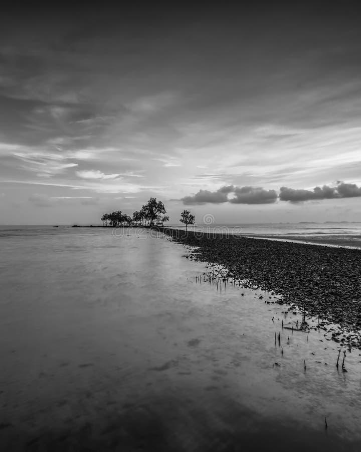 BlackWhite Photos at Batam Bintan Island Indonesia. Wonderful BlackWhite Photos at Batam Bintan Island Indonesia royalty free stock image