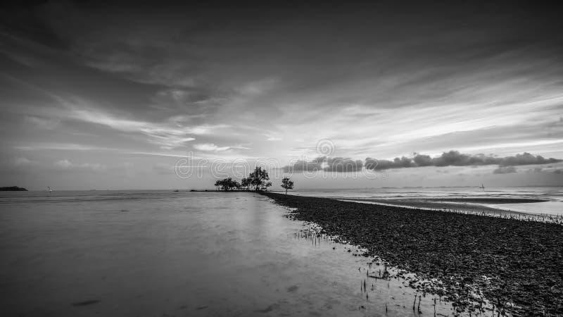 BlackWhite Photos at Batam Bintan Island Indonesia. Wonderful BlackWhite Photos at Batam Bintan Island Indonesia royalty free stock images