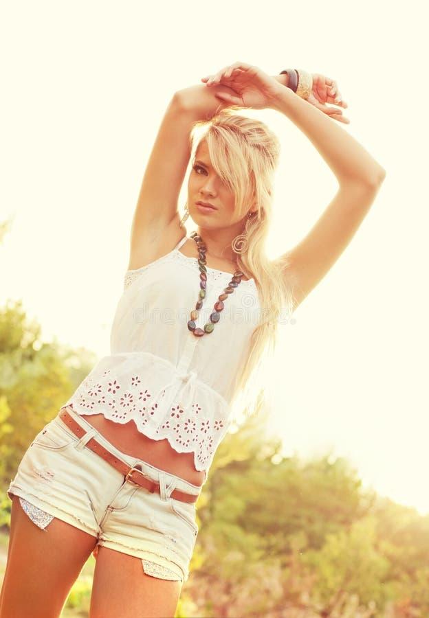 Download Wonderful blond women stock image. Image of charming - 26186315