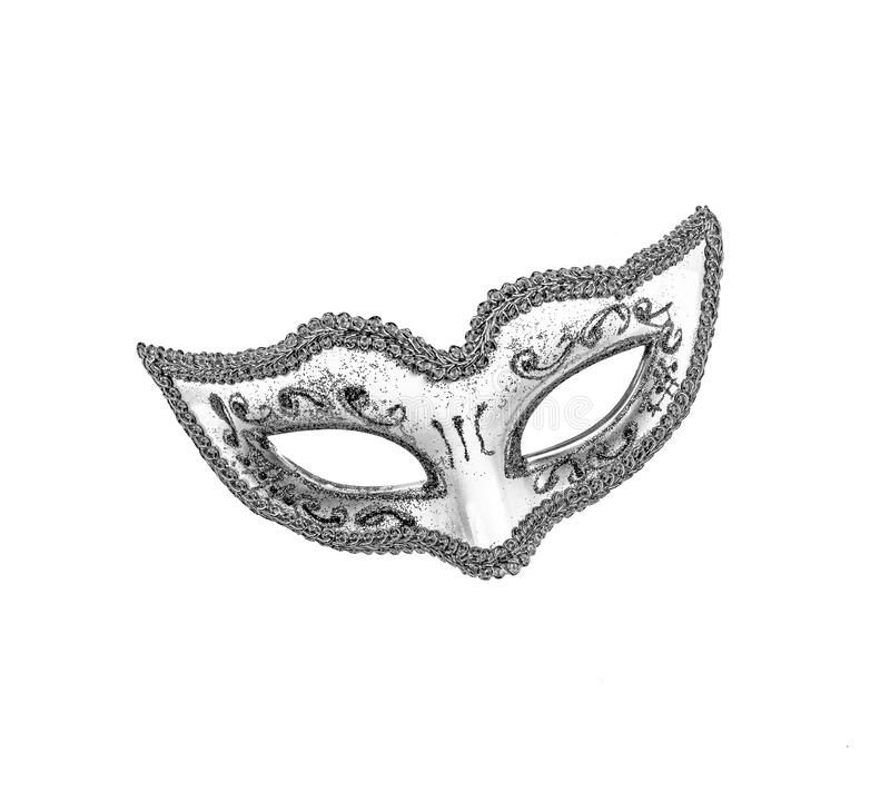 Wonderful Carnival mask isolated on white background. Mardi Gras. royalty free stock photos