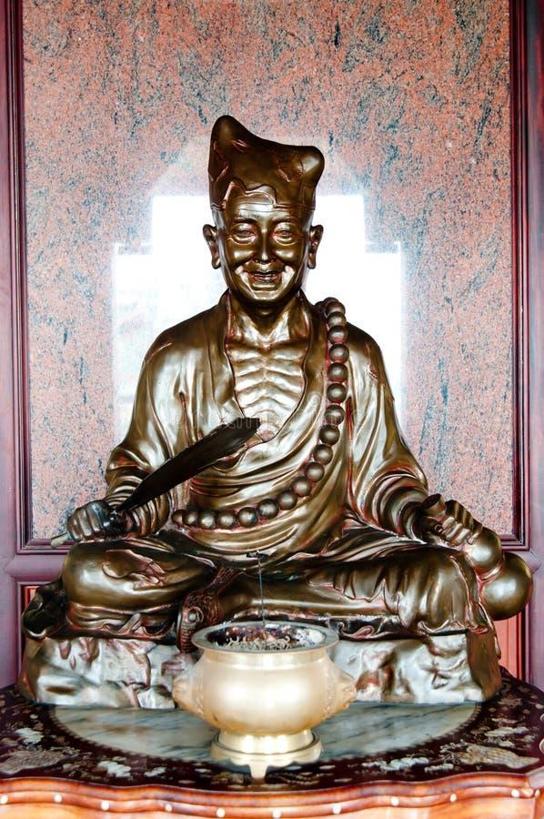 Wonderful Dark Buddha Royalty Free Stock Photography