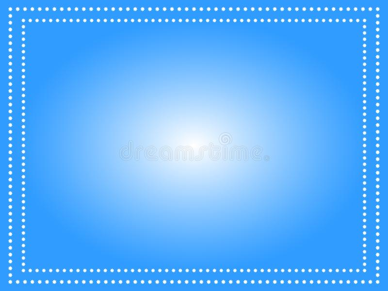 Wonderful design of a blue background with white flowers vector illustration