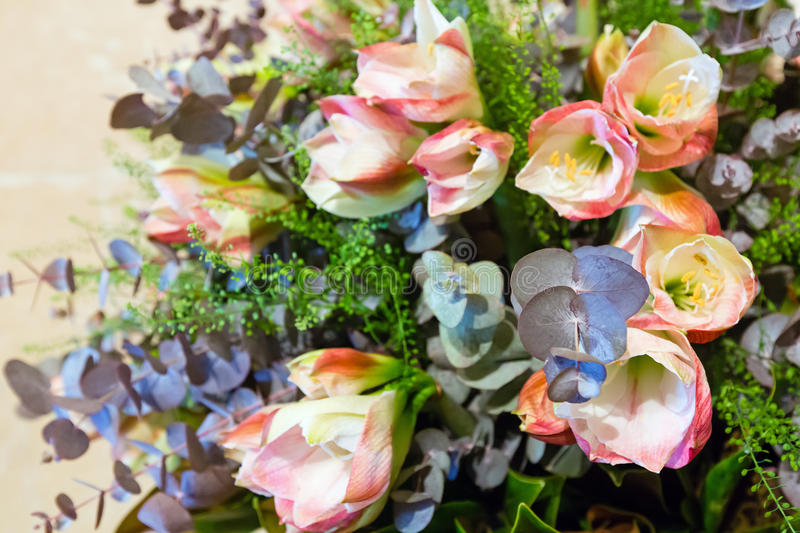 Download Wonderful Flowers Bouquet Stock Photo Image Of Celebrations