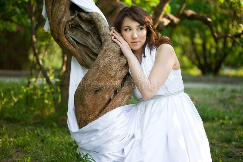 Wonderful girl stock image