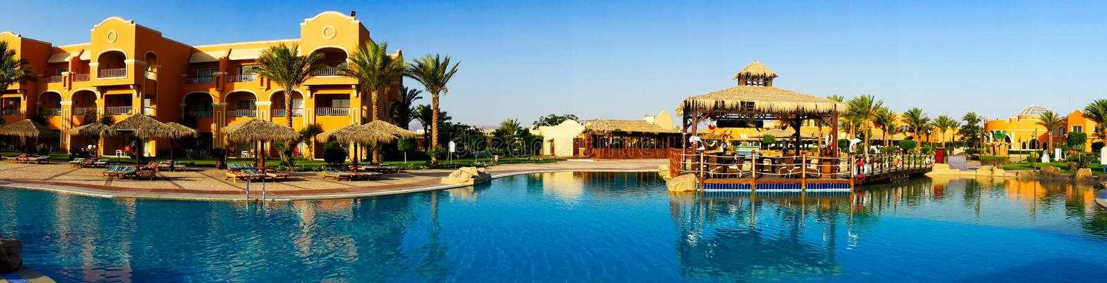 Download Wonderful  Hotel Swimming Pool In The Egypt. Stock Photo - Image: 26010098