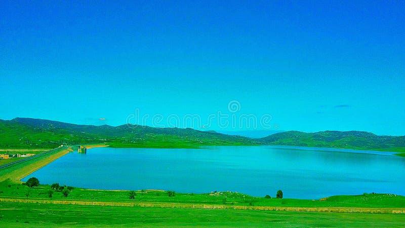 A wonderful image of dams Morocco royalty free stock image