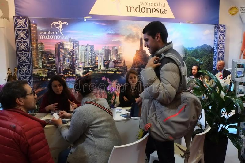 Wonderful Indonesia at the TT Warsaw 2017 stock photos
